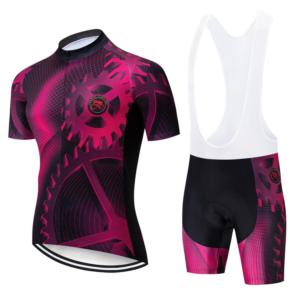 2020 nuevo pro team Bahréin aero Ciclismo skinsuit Verano de manga corta bodysuit bicicleta Ropa MTB Ropa Ciclismo speedsuit jerseys