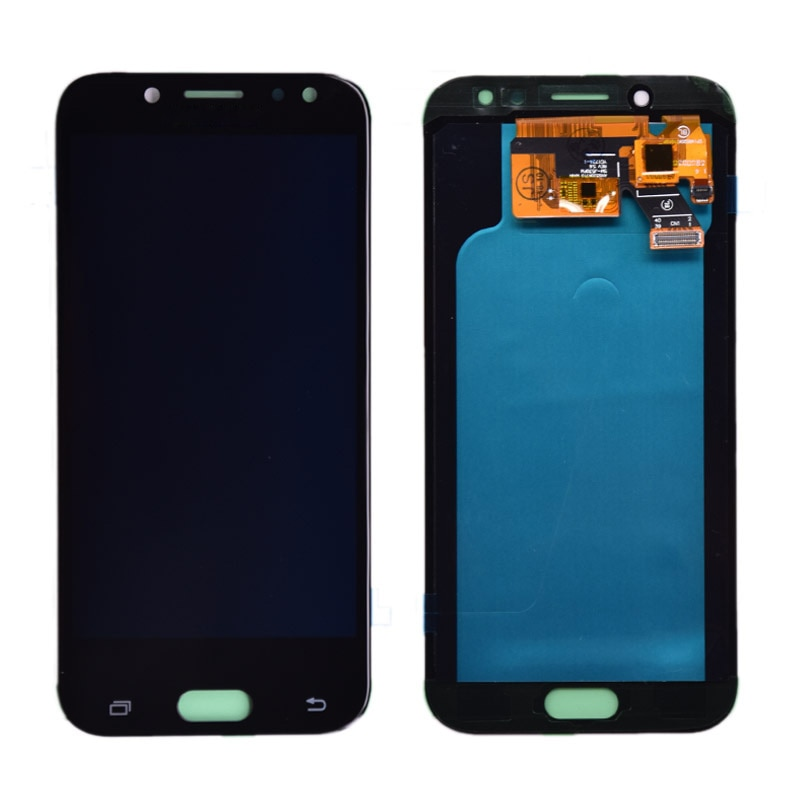 100% Super Amoled LCD For Samsung Galaxy J5 2017 J530 J530F AMOLED LCD Display Touch Screen Digitizer Assembly free shipping enlarge