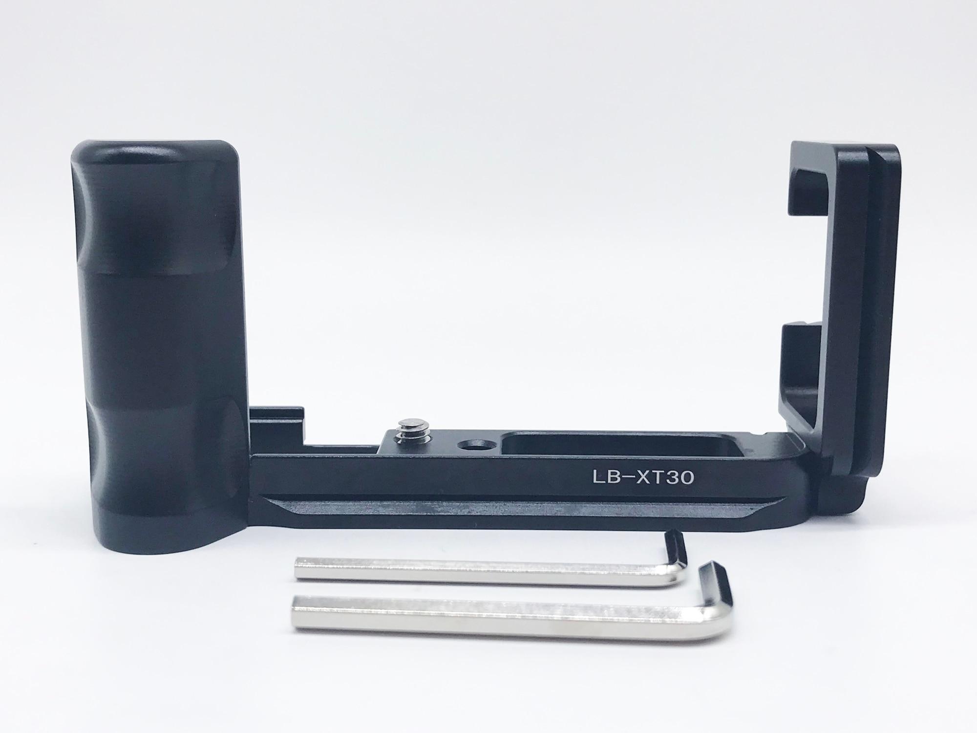Xt30 Vertical de liberación rápida L placa/soporte adaptador de agarre de mano para Fujifilm Fuji X-T30 RRS SUNWAYFOTO markin