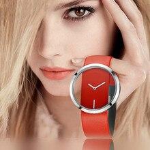 Hot 2019 New Fashion Watches Women Men Lovers Watch Leather Quartz Wristwatch Female Male Clocks Rel