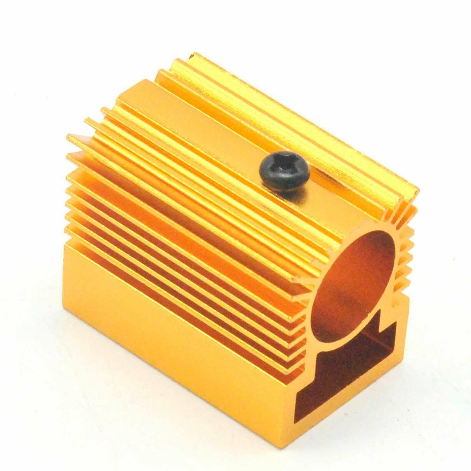 5шт золотой цвет алюминий радиатор радиатор 20x27x50 мм для 12 мм лазер модуль