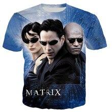 2021 TV Series The Matrix 3d Printed T-shirts Men/women Fashion Casual Harajuku Style Short Sleeve Streetwear Oversize Tops