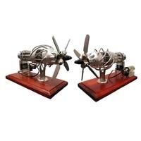 16 cylinder hot air stirling engine motor model creative motor engine toy
