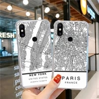 london country sketch city map phone case transparent for xiaomi cc max mix note 3 2 6 8 5 10 11 9 10 play x s se lite pro