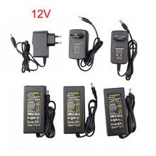High Quality DC12V Led Power Supply Adapter 1A 2A 3A 5A 6A 8A 10A 12.5A Led Transformer For 12V WS2811 WS2815 Led Strip