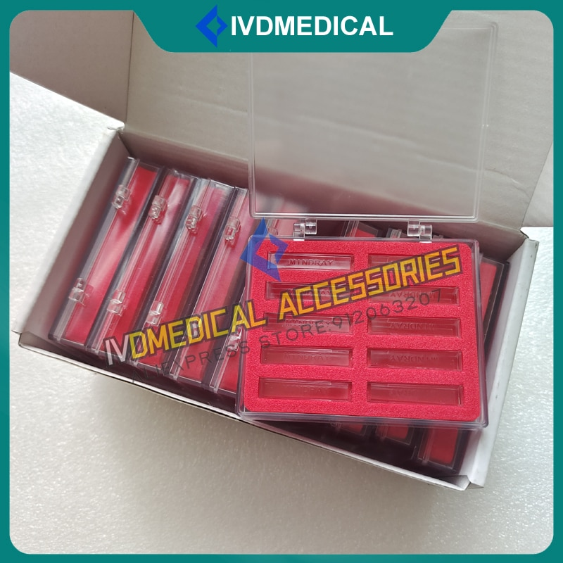 Mindray Chemisty Analyzer Cuvettes BS380 BS390 BS400 BS420 BS480 BS490 Cuvette 100Pcs/Box
