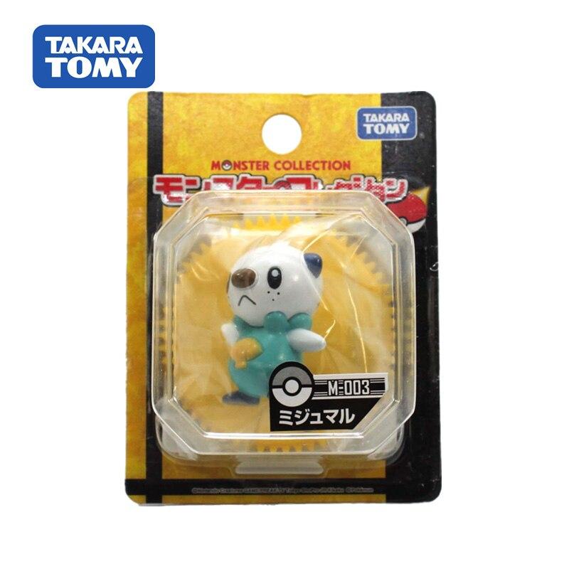Takara Tomy Pocket Monster Moncolle Mijumaru Doll Pokemon Figure Action Collectible Toy for Children