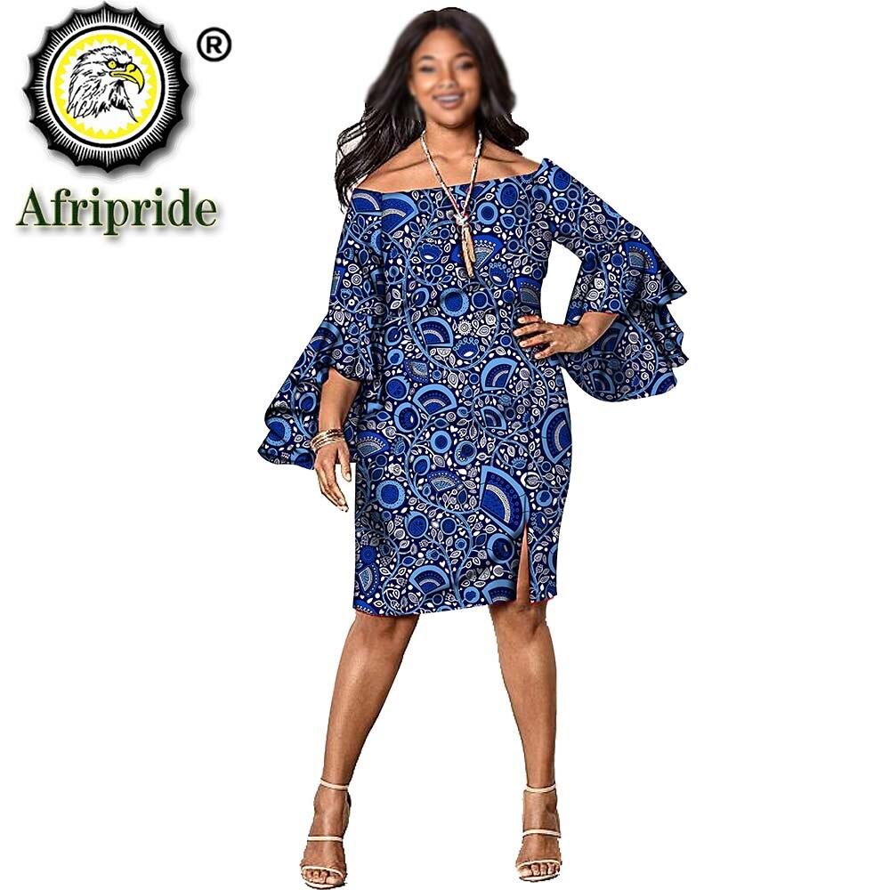 2020 платья с Африканским принтом для женщин, африканская одежда, одежда, ткань Анкары, восковое платье, женское платье, аксессуар S1925075