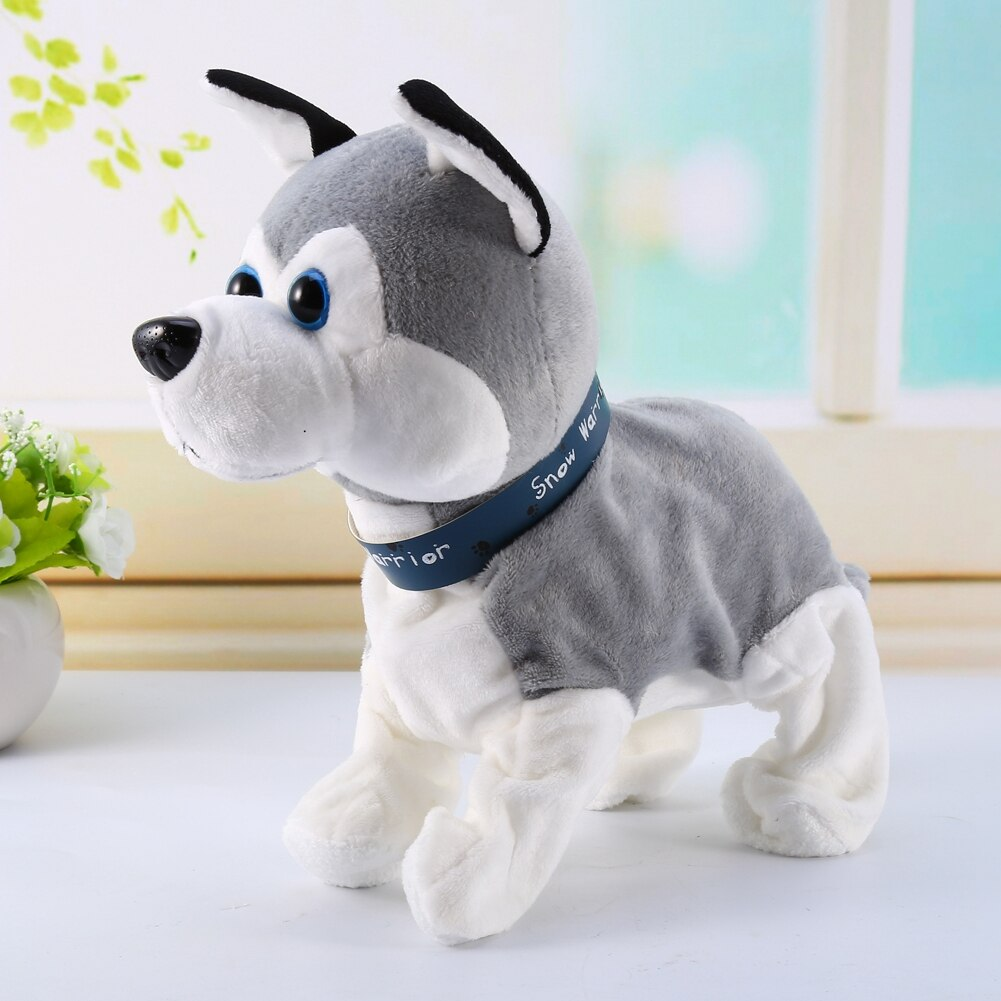 Sound Control Electronic Dogs Pets Lovely Cute Electronic Toys Dog For Kids Interactive Toys