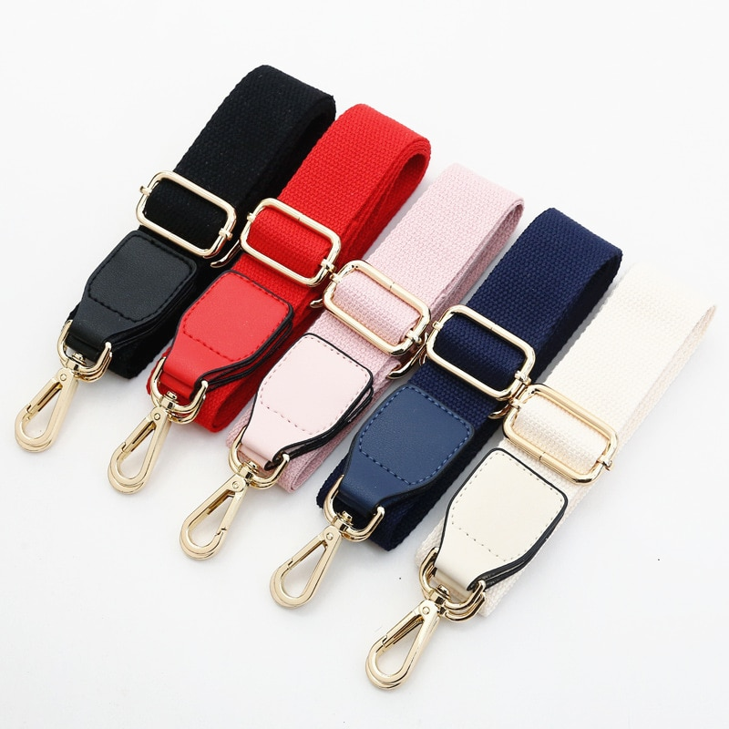 Bag Strap for Cross Body O Bag Belt Accessories DIY Women Shoulder Bag Handles Solid Color Handbag Strap Adjustable Hanger Parts