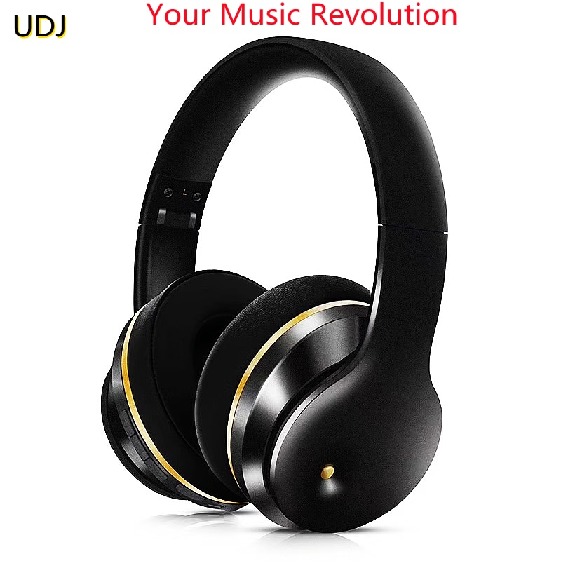 UDJ Wireless Bluetooth Headset ANC Foldable Phone With Microphone Subwoofer Music High-fidelity Game