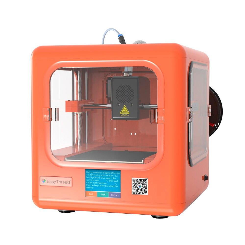 Impressora com Tela Máquina de Impressão de Impressora de Uma Chave para o Estudo da Criança Dora Mini Faça Você Mesmo Presente Drucker 3d Kit
