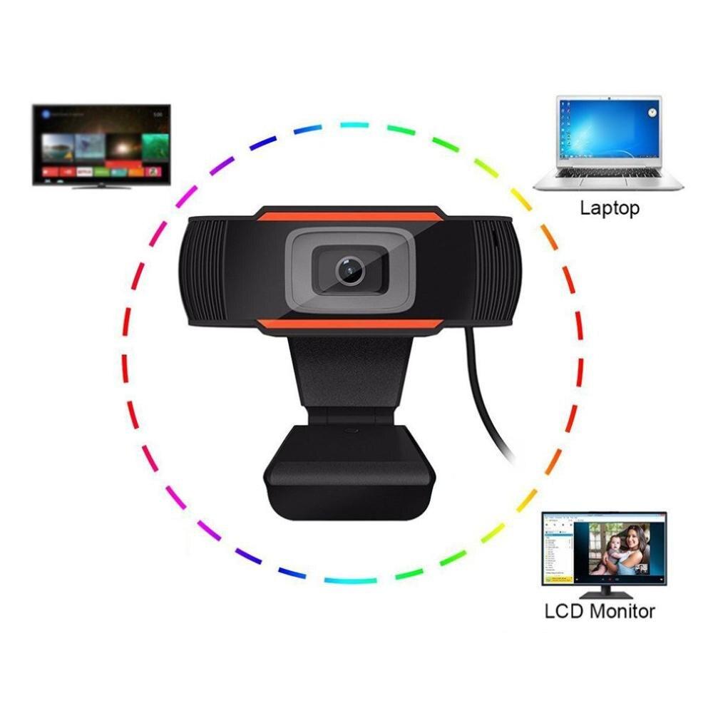 1 шт., камера A870C Usb 2,0 для ПК, 1280X480, Hd веб-камера для записи видео, веб-камера с микрофоном для компьютера, ноутбука