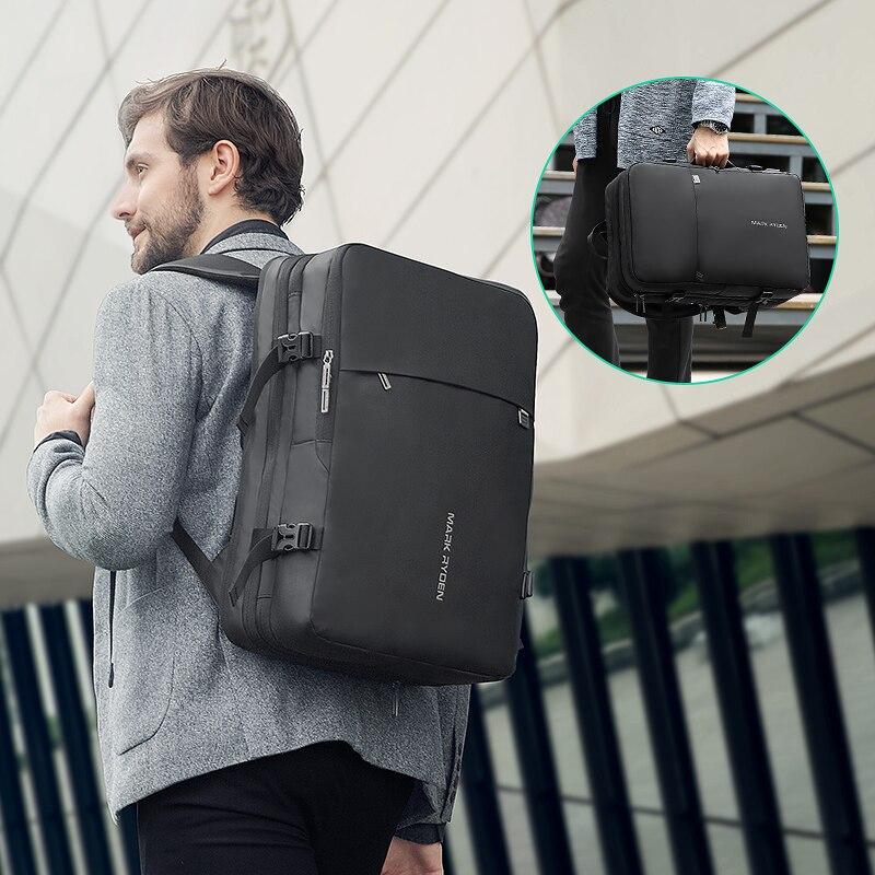 Beg galas lelaki muat beg 17 inci USB mengecas beg anti-pencurian - Beg galas - Foto 6