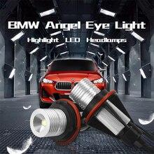 LED Yeux Dange pour BMW E39 E60 E53 X5 E83 X3 E61 E63 E64 E65 E66 E87 BMW LED Côté Marqueur Ampoule Canbus Blanc Bleu Rouge Jaune