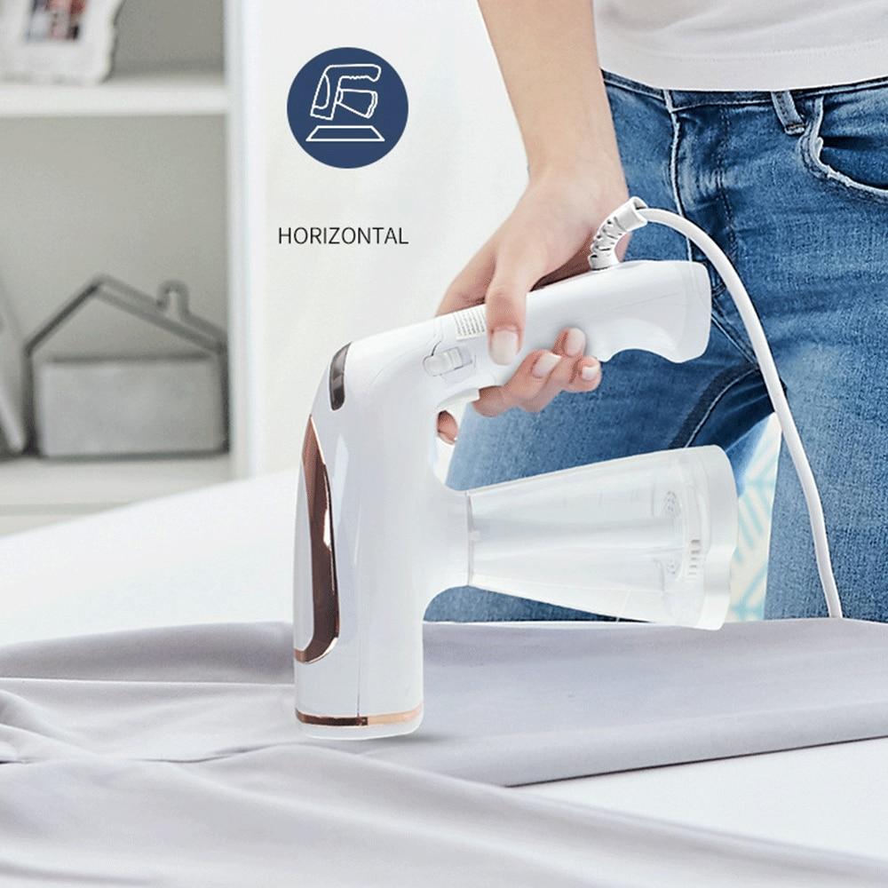 آلة تنظيف الملابس بالبخار المحمولة قابلة للطي مكوّاة صغيرة محمولة للملابس المنزلية باخرة مكوّاة Redmond Plancha Ropa