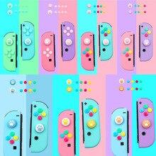Thumb Stick Grip Cap Joystick Button Protective Cover For Nintendo Switch Joy-con Controller Nintend ABXY Key Sticker Skin Case