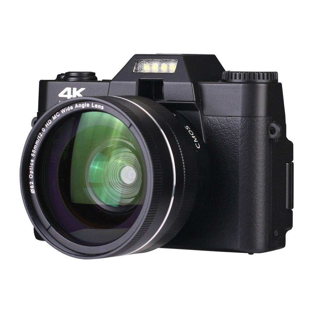 4K عالية الوضوح 16X كاميرا رقمية مايكرو واحد ريترو مع واي فاي الفاصل الزمني اطلاق النار المهنية كاميرا رقمية Vlog