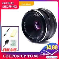 Meike Camera Lens 25MM F1 8 Wide Angle Manual Lens for Canon   for Nikon   for Sony   for Fuji   M4 3 Mount Camera Lens