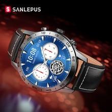 2021 NEW SANLEPUS Wireless Charging Smart Watch IP68 Waterproof Smartwatch Men's Watches Fitness Bra