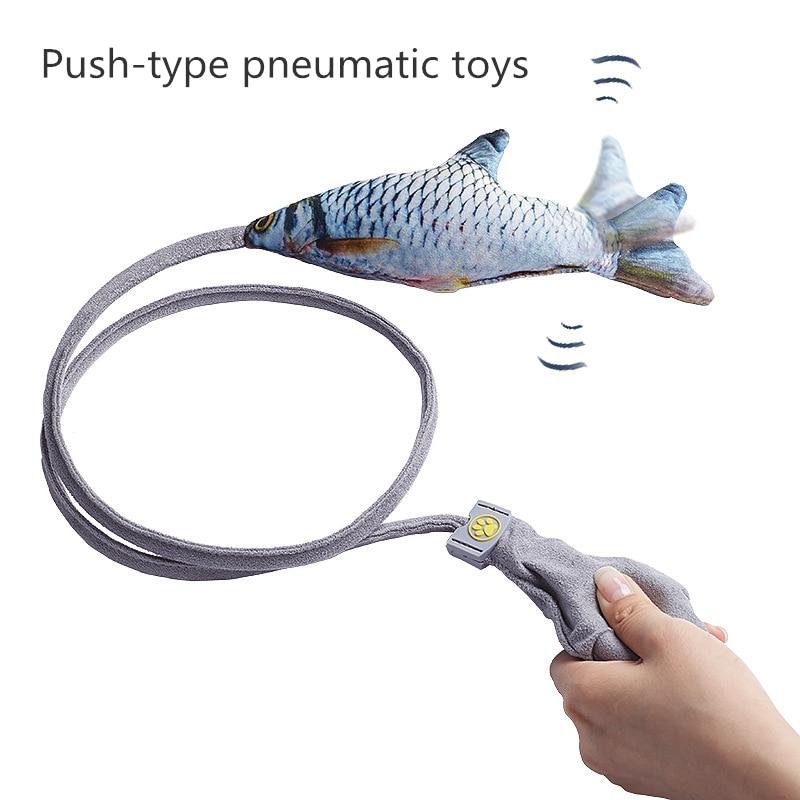 1 шт. креативная подушка безопасности для домашних животных, забавная игрушка для кошек, Интерактивная забавная палочка для кошек, имитация ...