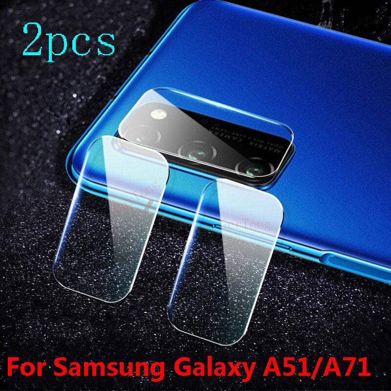 3 piezas para Samsung Galaxy M40 A50 A30 lente de la cámara de película Protector de pantalla en la A60 A70 M10 M20 M30 película de lente trasera S10 Plus A20 A10