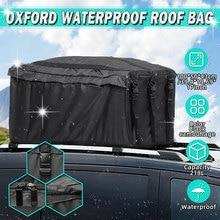 100X50X43cm Car Roof Top Bag Oxford Waterproof Roof Top Bag Rack Cargo Carrier Baggage Bag Rack Storage Luggage Car Travel