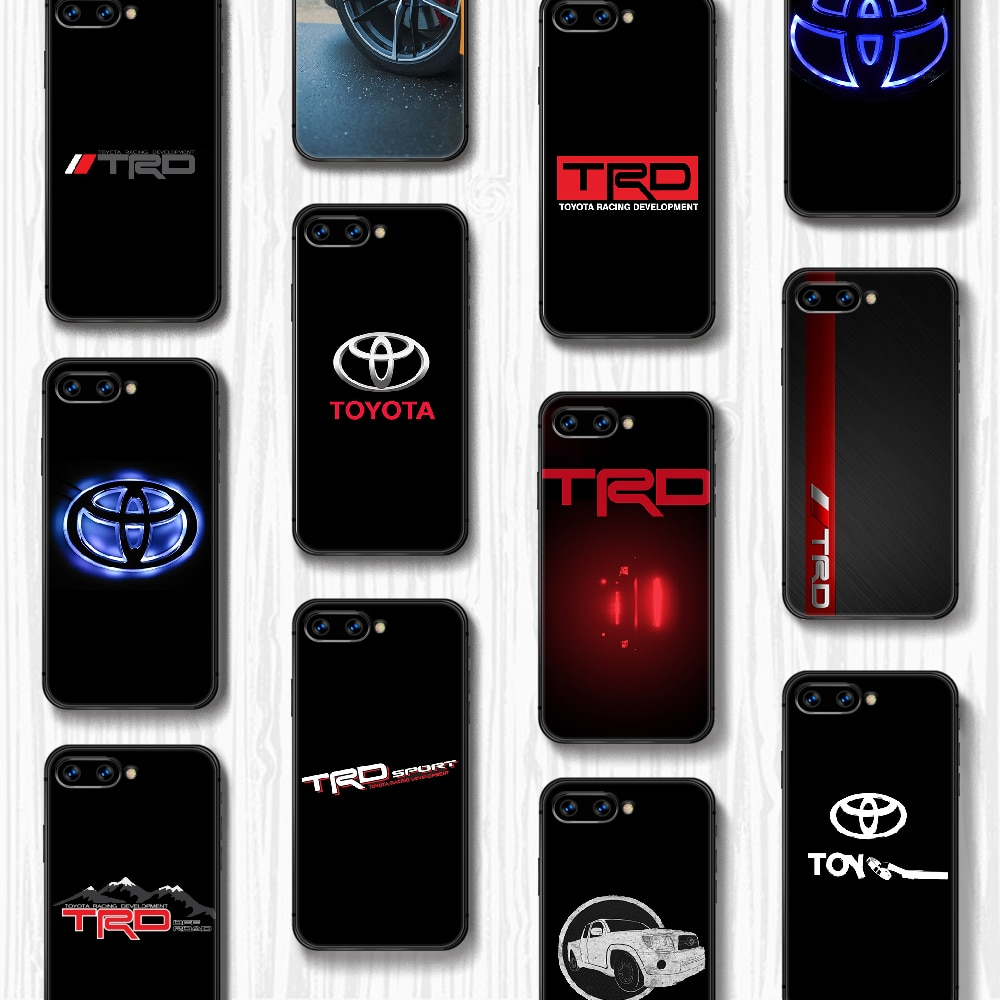 Toyota car logo Phone Case Cover Hull For HUAWEI honor 8 8c 8a 8x 9 9a 9x V10 MATE 10 20 I lite pro