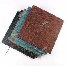 Tapis de sol en caoutchouc 50*50*2cm taille personnalisée disponible