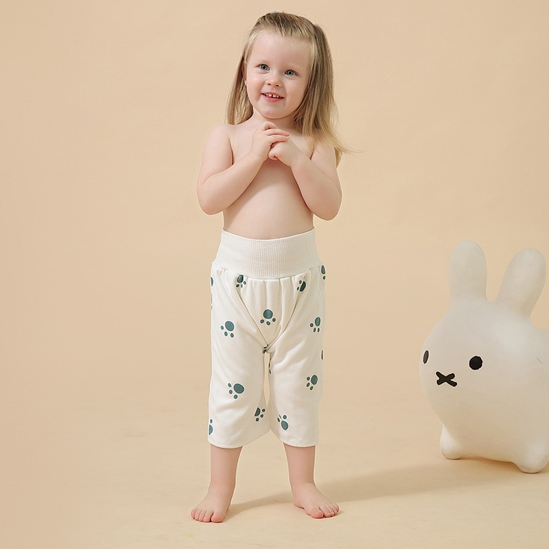 Baby Training Pants Leakproof Infant Diaper Long Trousers Cotton Washable Underwear Cloth Waterproof Nappy pañales ecológicos