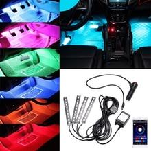 Éclairage de voiture à bande RGB   Pour Jeep Wrangler Grand Cherokee commandant Renegade boussole Patriot jk tj jl RGB, lumière ambiante