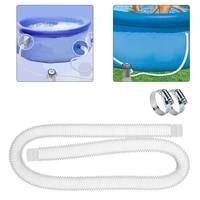 swimming pool replacement hose set 32mm pipe drawing water hose filter pipe with clamps for 3003305301000 gallon pump