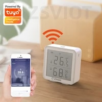 Tuya WiFi Smart Temperature And Humidity Sensor With the display LCD Digital Smart Home Mobile APP Control Linkage