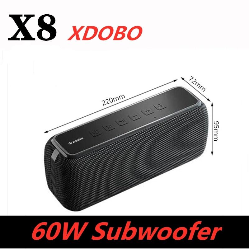 Bluetooth Колонка 60 Вт, влагозащита IPX5, басовый сабвуфер, Портативная колонка Type-c, голосовой помощник, колонка s, музыкальный центр, время работы ...