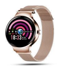 H5 femmes montre intelligente pression artérielle moniteur de fréquence cardiaque tracker de Fitness IP67 étanche mode Sport Smartwatch
