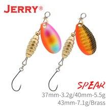 Jerry Spear esca spinner in metallo ultraleggero esche da pesca UL spinnerbait pesce persico trota trota