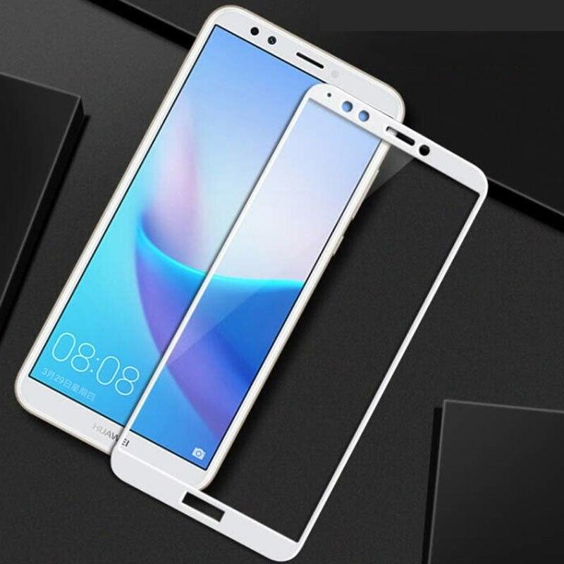 Vidrio Protector para Huawei Y5 Prime Glass Y6 On Honor 7a Pro A7 7 A 7apro Y 5 6 5y 6y vidrio templado Protector de pantalla