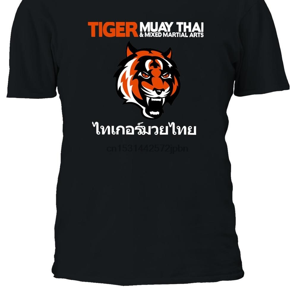 Muay Thai Tiger Phuket Pattaya T shirt T Shirt Top Männer Frauen Junge Mädchen Damen Unisex S M L XL XXL 3XL 4XL 5XL Übergroßen 811