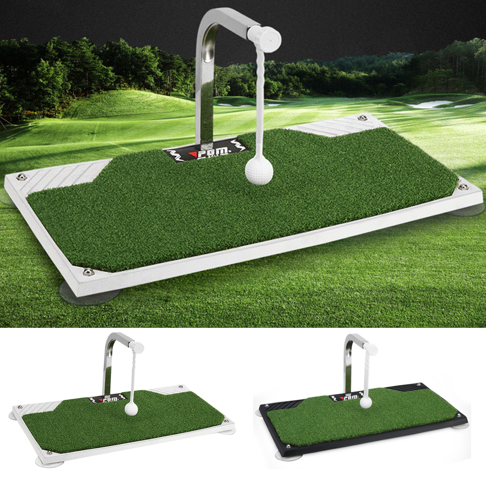 New Golf Beginner Professional Auxiliary Trainer Swing Putter 360-degree Rotating Golf Trainer Indoor And Outdoor Portable Tool