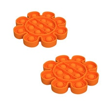 2pcs Adult Kids Funny Antistress Toys Push Bubble Sensory Toy Autism Special Needs Stress Reliever T