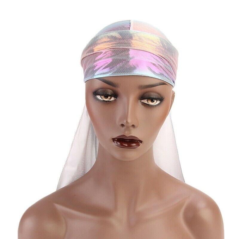 Diseño UNISEX BANDANA DURAG trapo DO-RAG sombrero ZANDANNA verde gorra sol gorra de pañuelo