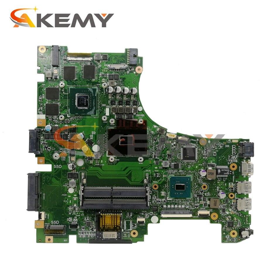 GL553VD Laptop motherboard for ASUS ROG Strix GL553VD GL553VE FX53VD ZX53V GL553V original mainboard I7-7700HQ GTX1050-4G