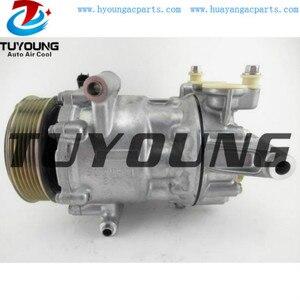 SANDEN SD7V16 1864F 1876 car a/c compressor for Citroen Jumper Relay Peugeot Boxer 2.0 Diesel 1671554080 9806706780 9819711380
