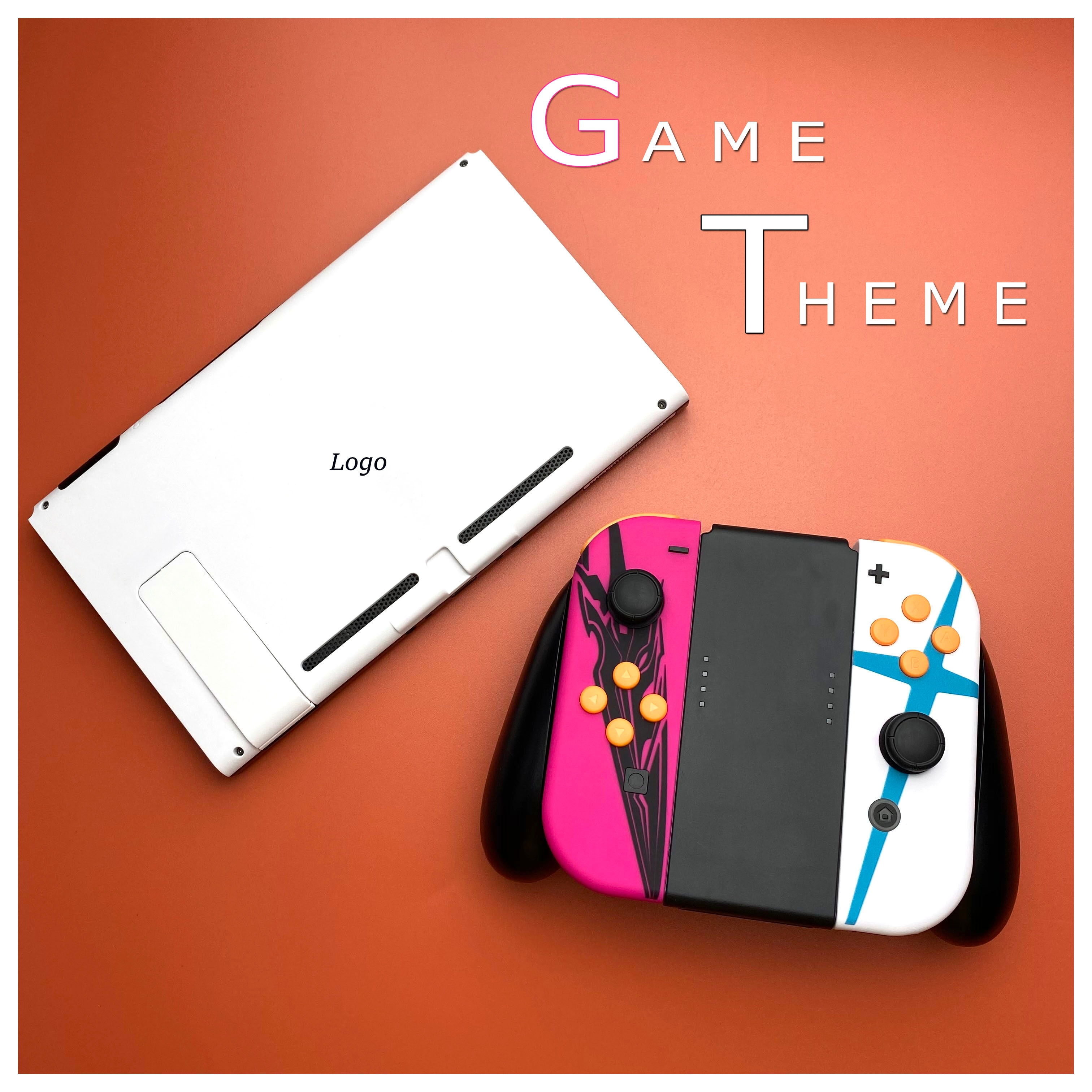 Game Theme NS Switch Housing Shell Case Replacement Joy-Con Repair Kit Case Cover Housing Shell for Nintendos Switch Controller