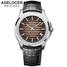 Suisse étanche lumineux montre-bracelet hommes montres haut de gamme marque de luxe célèbre montre pour hommes pour hommes PowerReserve Date bleu pierre couronne