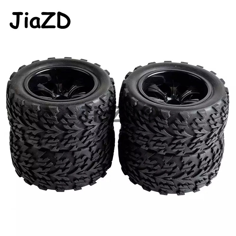 4pcs/set HSP 1/10 Monster Truck 88030 Tire Bigfoot Tire (4pcs) Diameter 115mm Hexagon combined with 12mm HSP 94111 94108 94188