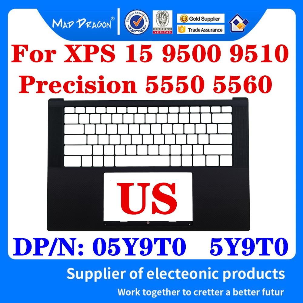 Новая верхняя крышка для ноутбука Dell XPS 15 9500 9510 Precision 5550 5560 M5560