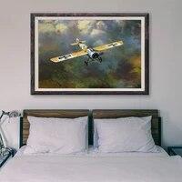 Peinture classique retro T001  77 affiches en soie personnalisees  operations de vol davion de guerre  decoration murale  cadeau de noel