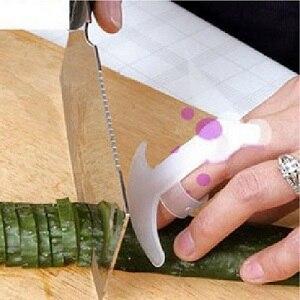 1 PCS Kitchen Gadgets Security Design Food Knife Cut Vegetable Palm Rest Anti-cut Finger Protector H