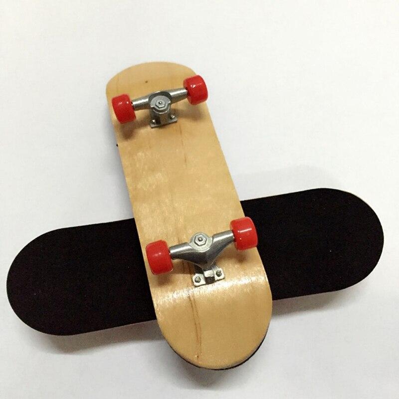 Основные Fingerboars дети ключ скейт Boarding игрушки палец скейтборды деревянный гриф Профессиональный палец скейтборд